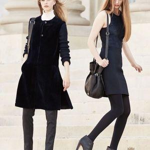 NEW Theory Black Jinxil Fixture Ponte Dress